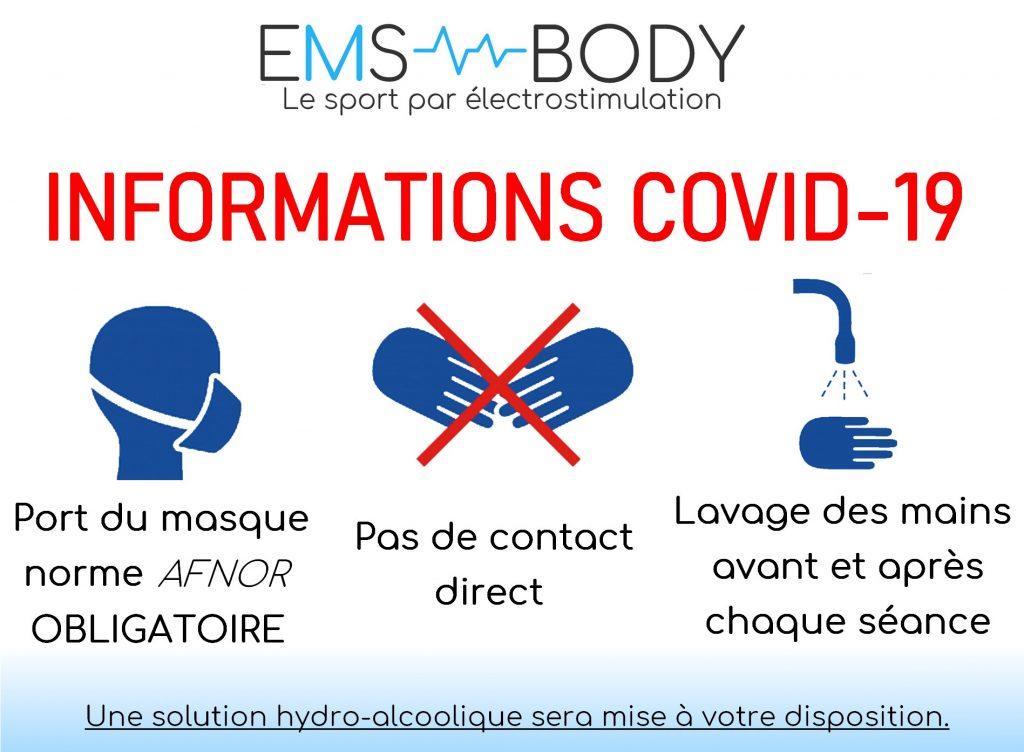 Stop covid EMS BODY