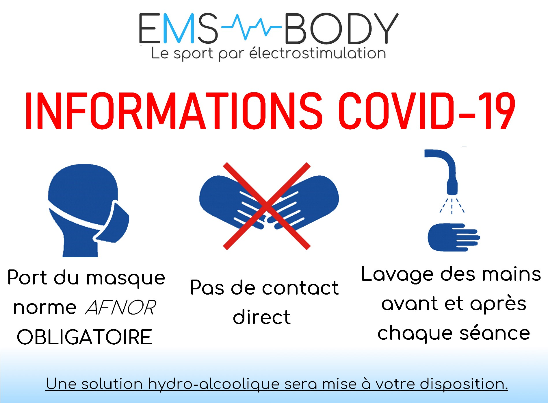 Stop covid EMS BODY